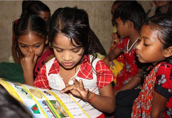 Children at school in Bangladesh